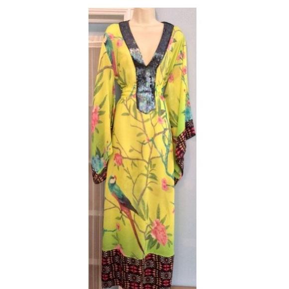 H M Dresses   Skirts - Matthew Williamson for H M Caftan Dress 514af9fc8